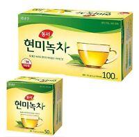 50 - 100 PCS Dongsuh Brown Rice Green Tea Bag Healthy Tea Herb Tea Korean Noo