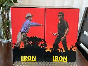 Iron Studios Jurassic Park 1/10 art scale Alan Grant & Ian Malcom Statue Bundle