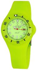 ToyWatch Unisex Yellow Dial Yellow Rubber Strap Quartz Watch JYD06YL