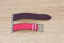 Apple Watch 2 3 4 5 6 Hermes Hermès 38mm 40mm Bordeaux Rose Extreme Rose Azallee