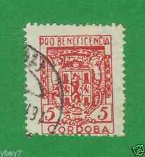 Spanien pro beneficencia 5 Cordoba 1931?? Falz stamp