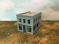 20th Century City Town SALOON or Office Building - N Scale 1:160 - 3D Model USA