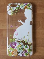 Disney Alice In Wonderland Clear Silicone Gel Case For iPhone 6/6s.Birthday Gift