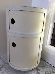 Kartell Componibili large 2-door cream storage unit Anna Castelli Made Australia