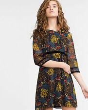 Zara Women's Long Sleeve Chiffon Dresses