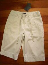 sportscraft beige pinstripe shorts  NWT $89.99