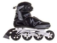 Inline Skates Vivo Thunder PW-150AY Black - Gray