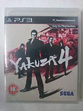 Yakuza 4 for Sony PlayStation 3 [Region Free]