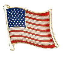 USA Flag America Pin Lapel Badge High Quality Gloss Enamel
