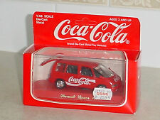 COCA COLA DIE-CAST MODEL* RENAULT ESPACE 1991 * MADE IN FRANCE AS NEW IN BOX