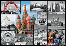Trefl 10380 - Moscow - collage - Jigsaw Puzzle 1000 pieces