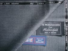 100% ALL WOOL WORSTED SUITING FABRIC By: Joseph Hirst of Huddersfield - 3.63 m.