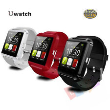 Bluetooth Smart Wrist Watch Phone Mate For Android&IOS Iphone Samsung Black USA
