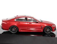Jaguar XFR IXO Italian Racing Red 1:43 Scale Die-cast Car Dealership Model Mint