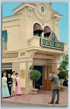 Postcard Disneyland Carefree Corner INA Insurance Company Information AE12
