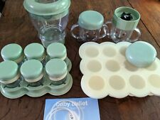 Lot Magic Bullet Baby Bullet Baby Food Making System Extra Pieces