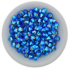 Swarovski Crystal 5328 XILION Bicones 3mm - CAPRI BLUE AB2X (24 PCS)