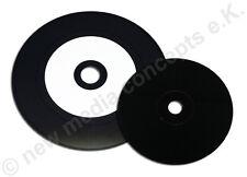 Vinyl Carbon CD-R bedruckbar 10 Stück  mit  Kartonstecktasche