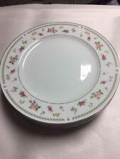 "7 Abingdon fine porcelain China Dinner Plates 10 1/4"""
