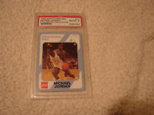 1989 COCA-COLA MICHAEL JORDAN PSA 8 CARD