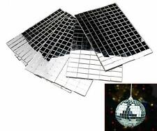 3600pcs 5x5mm Silver Self-Adhesive Mirror Mosaic Tile Mirror Xmas Diy Decoration