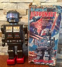 Vintage 1960's Mego Battery Operated Rotate O Matic SUPER ASTRONAUT