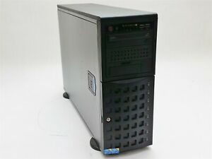 Supermicro 7046T-NTR+ Tower Server 2* Xeon E5506 2.13GHz 24GB NO CADDY 9650SE