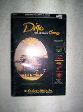 Dino Kartsonakis plays folk musical Themes songbook choral piano organ 10.5x7