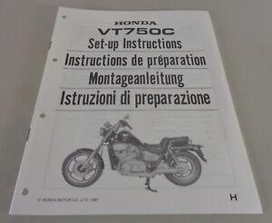 Instrucciones de Montaje / Kit Up Manual Honda VT 750C Stand 1987