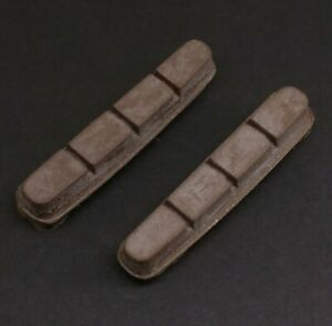 2x Carbon Brake Pads-Cork Composite-SRAM Force/RED/ZIPP/HED Wheel/Rim Compatible