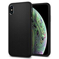 iPhone X/XS, XS Max, XR Case Spigen® [Liquid Air] Ultra Slim Protective Cover