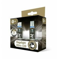 BOMBILLA HALOGENA H1 GENERAL ELECTRICS GE H1 MEGALIGHT ULTRA +130 LUZ EN CARRETE