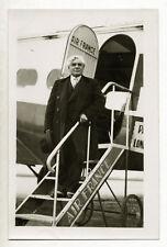 Joseph Paul-Boncour, homme politique SFIO, Wibault Air France - Photo c. 1935