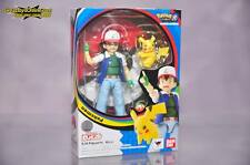 Bandai S.H.Figuarts Ash Ketchum Satoshi and Pikachu Pokemon Figure 4549660149422