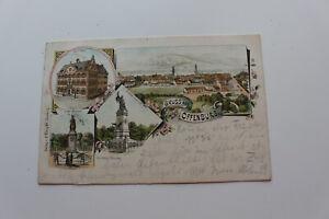 Gruss aus Offenburg,gel.1896 nach Corcelles,Litho