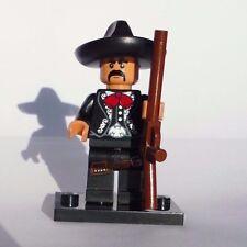 NEW CUSTOM LEGO BATMAN SOLDIER TAN FLESH MEXICAN w CHARRO suit ZAPATA COWBOY