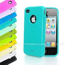 HIGH GLOSS SHINY CANDY MIRROR EFFECT TPU GEL SILICONE CASE FOR IPHONE 4S 4