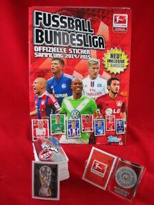 Topps Bundesliga 2014/2015 Satz komplett + Album = alle Sticker Penny 14/15