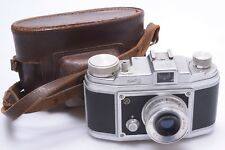 SARABER FINETTA 88 35MM *1953* CAMERA WORKS 100% W/ 45MM FINETAR 2.8 LENS & CASE