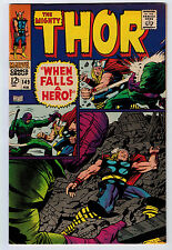 THOR #149 8.5 HIGH GRADE BLACK BOLT ORIGIN OFF-WHITE PAGES SILVER AGE