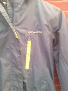 Columbia Womens Blue  Waterproof Jacket Outerwear Coat SZ XS