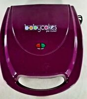 Babycakes Whoopie Pie Maker Purple