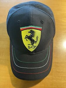 Ferrari Official Licensed Product Hat / Cap Unisex Adjustable Size