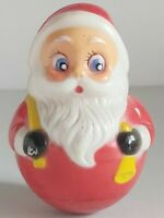SANTA ROLLY-POLLY CHRISTMAS TOY KIDDIE PRODUCTS INC USA