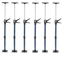6 Türspanner Türfutterstrebe Türspreize 50-115cm Tür Zargenspanner 30kg Stahl