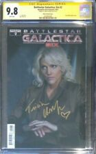 Battlestar Galactica: Six #2 photo cover__CGC 9.8 SS__Signed by Tricia Helfer