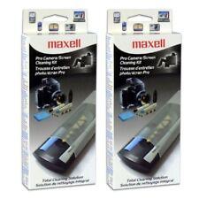 2x Professional Canon EOS Rebel digital camera Lens Cleaner cloth brush Kit Max