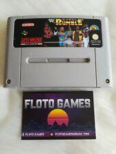 Jeu WWF Royal Rumble pour Super Nintendo SNES PAL FAH en Loose - Floto Games
