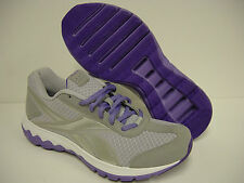 NEW Womens Sz 6.5 REEBOK Foam Fuel Techno J87322 Silver Purple Sneakers Shoes