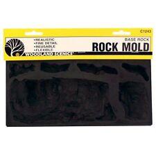Woodland Scenics C1243 Rock Mold - Base Rock , Flexible, Reusable - NIB